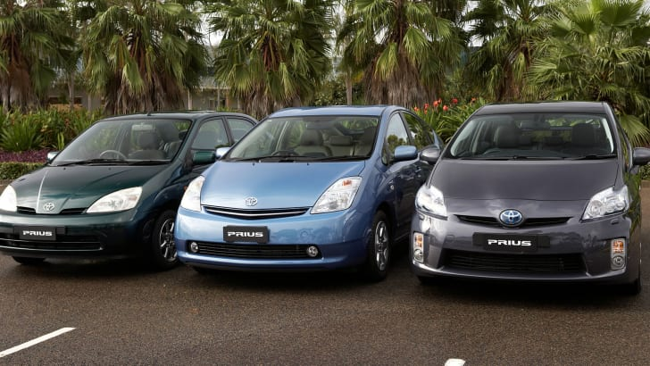 Toyota Prius first three generations