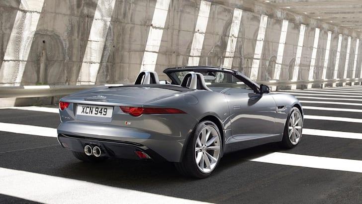 Jaguar F-Type - Silver