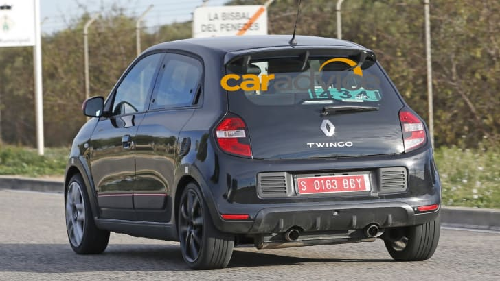 Renault Twingo RS Spied - 6
