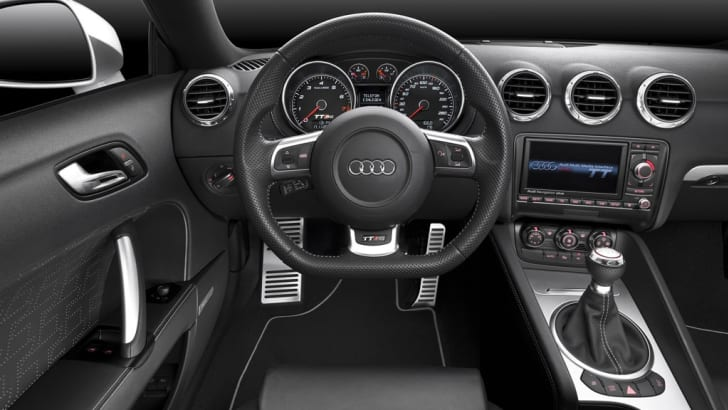 2009 Audi TT RS official details