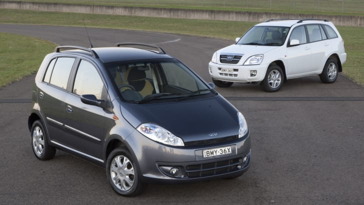 Chery J1 and J11