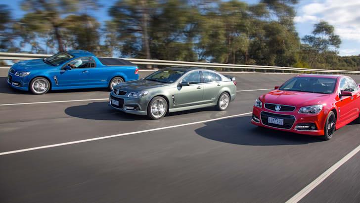 Holden VF SSV Redline range