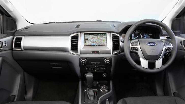 Ford Everest Titanium interior