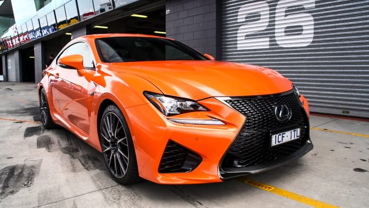 Lexus RC F track test19
