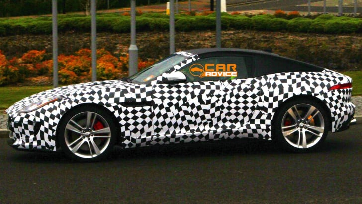 Jaguar F-Type Coupe Spied - 4