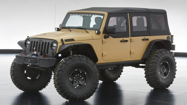 Jeep Wrangler Sand Trooper II - 1
