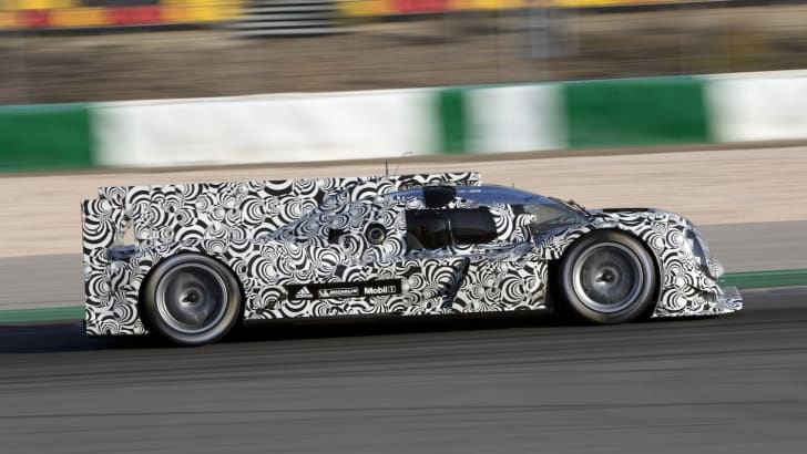 Porsche 919 hybrid LMP1 - Profile