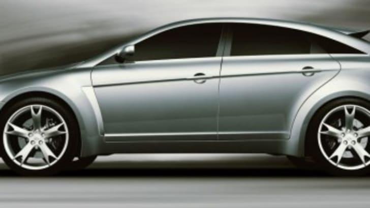 Mitsubishi Concept Sportback Side