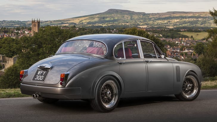 Jaguar Mark 2 restomod by Ian Callum and CMC - rear