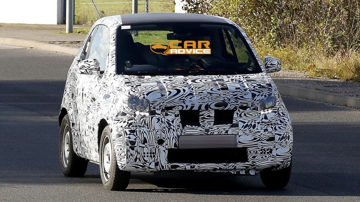 Smart ForTwo Spied - 1
