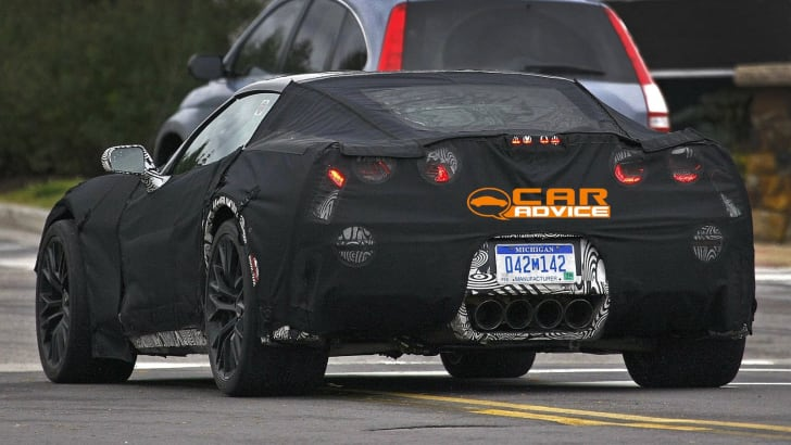 Chevrolet Corvette Z06 Spied - 8