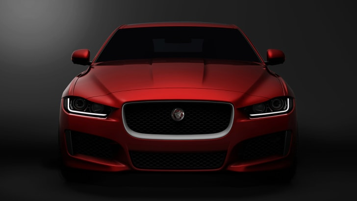 Jaguar XE front end render