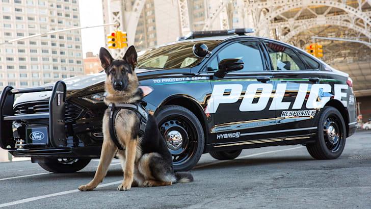 Ford Fusion Police Responder Hybrid Sedan