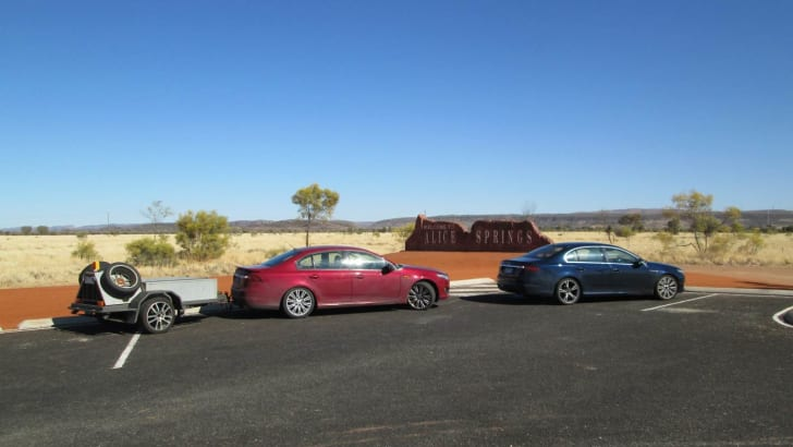 Hot weather trip to Alice Springs - 2015