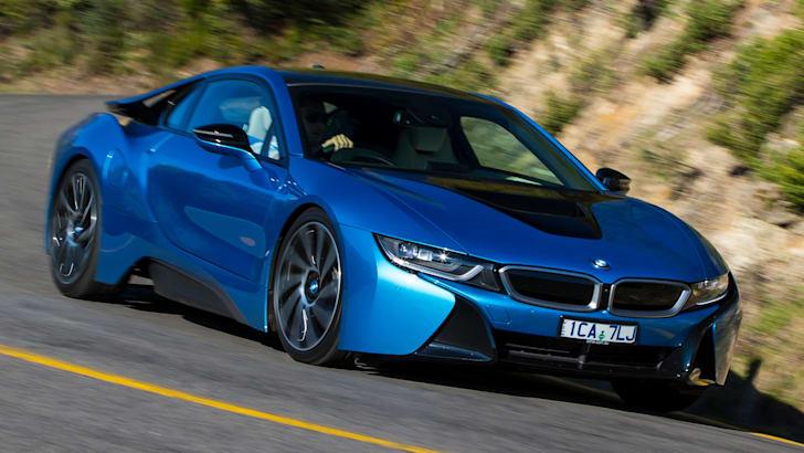 BMW i8 - Driving
