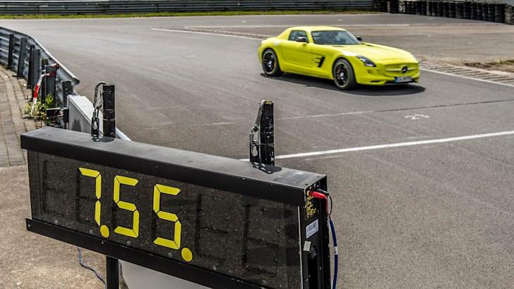 SLS AMG Coupé Electric Drive