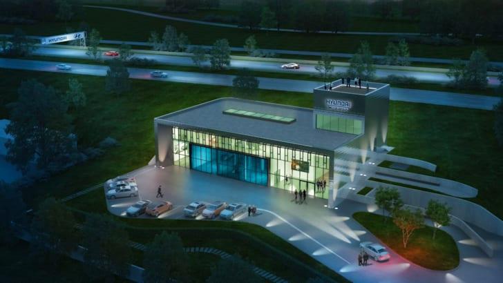 Hyundai Motor vehicle test centre 1