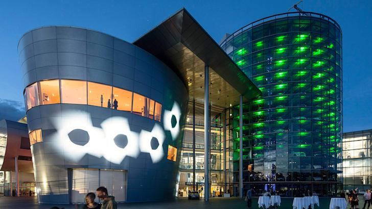 Lichtinstallation Bohme 2020