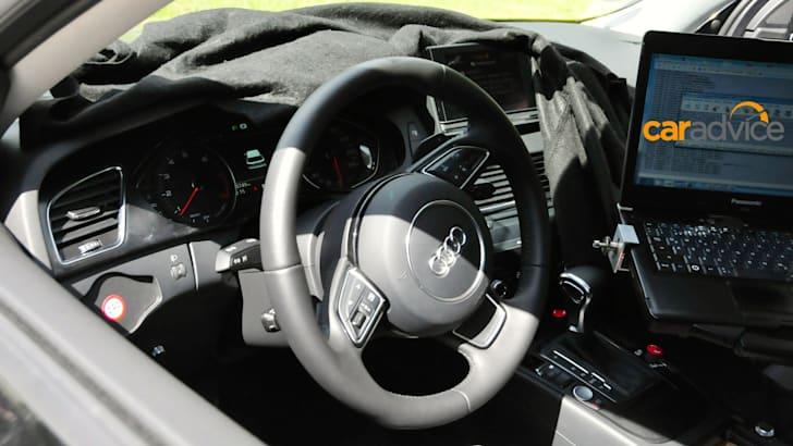 Audi A4 mule_1