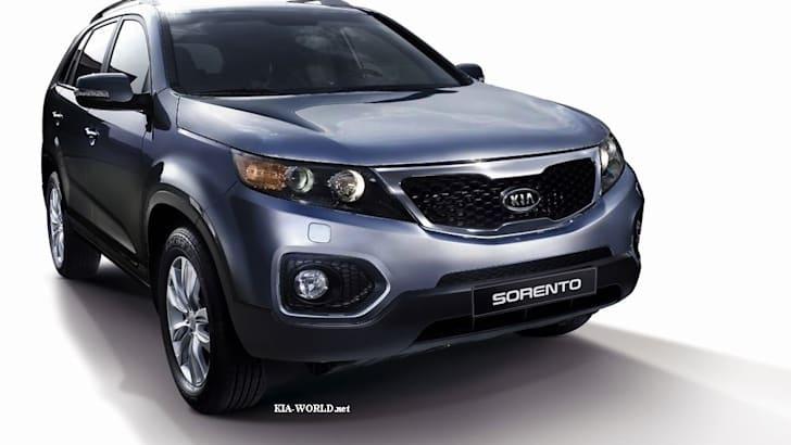 2010 Kia Sorento crossover leaked, lots