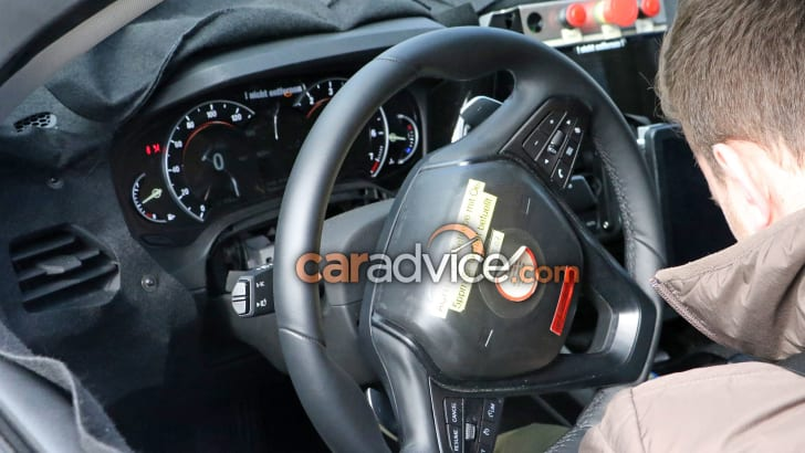2019 BMW 3 Series interior spied in detail | CarAdvice
