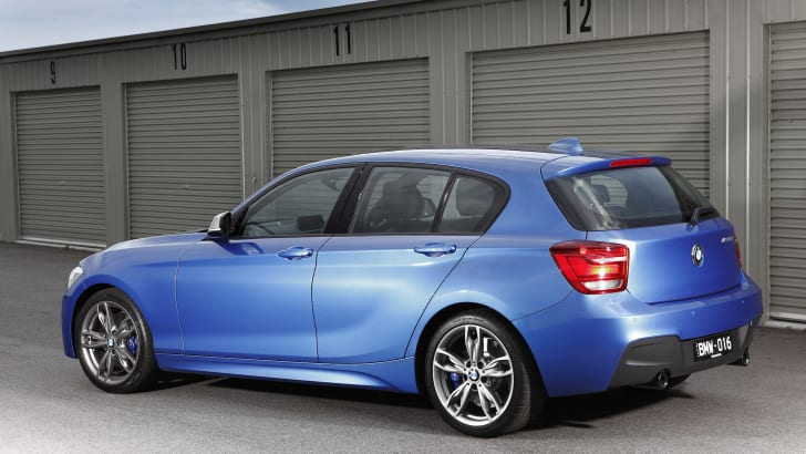 BMW M135i side rear