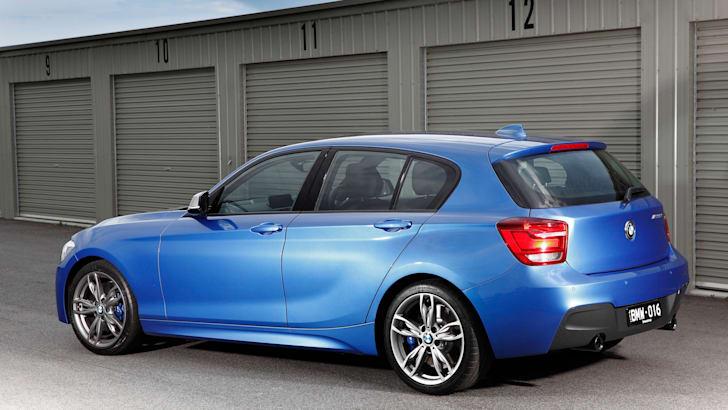 BMW M135i side rear