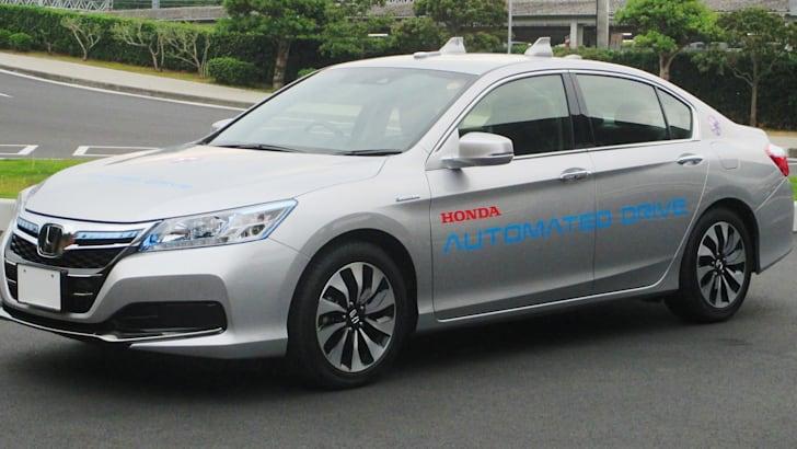 Honda-autonomous-drive-Accord-hybrid-based