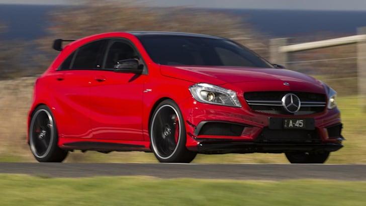Mercedes-Benz-A45-AMG-Aero-driving