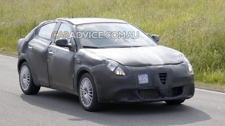 2009 Alfa Romeo 149 spied