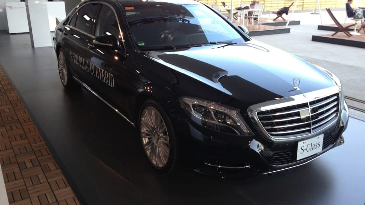 Mercedes-Benz S-Class plug-in hybrid 4