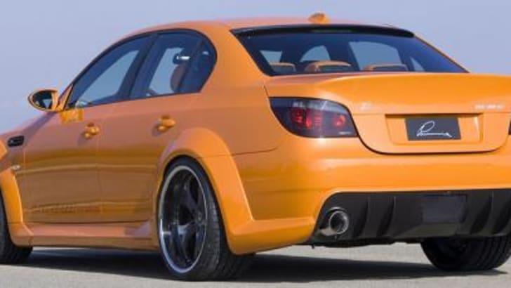 BMW M5 CLR 500 RS Rear