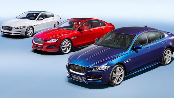 Jaguar-XE-range