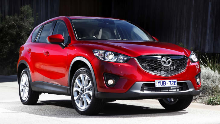 Mazda CX-5 static red