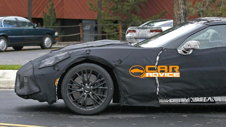Chevrolet Corvette Z06 Spied - 4
