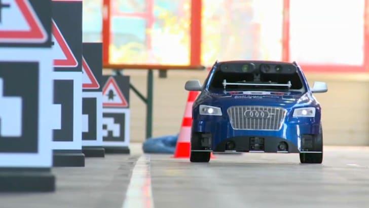 Audi Q5 Autonomous Driving Cup - 2