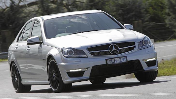 Mercedes C63 AMG sedan