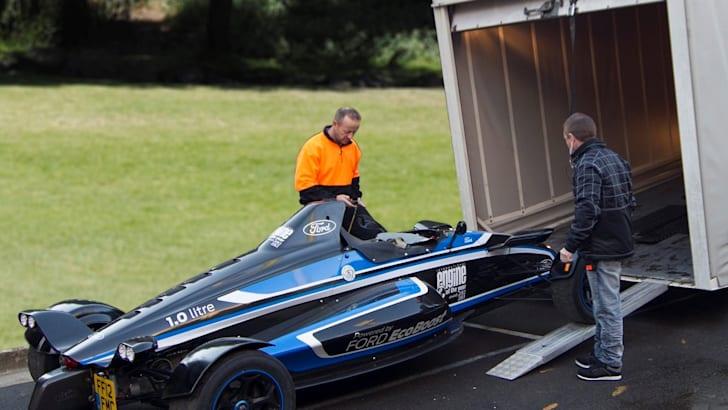 Ford 1.0-lite EcoBoost Formula Ford racer