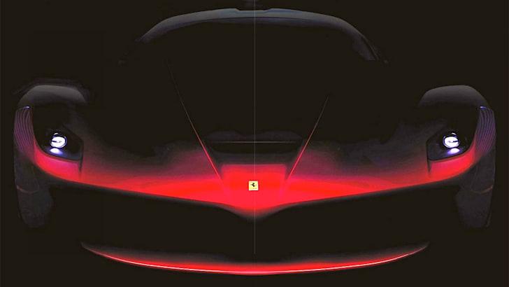 Ferrari F150 Teaser - Front