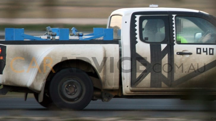 2012 Ford Ranger T6 Spy Photographs