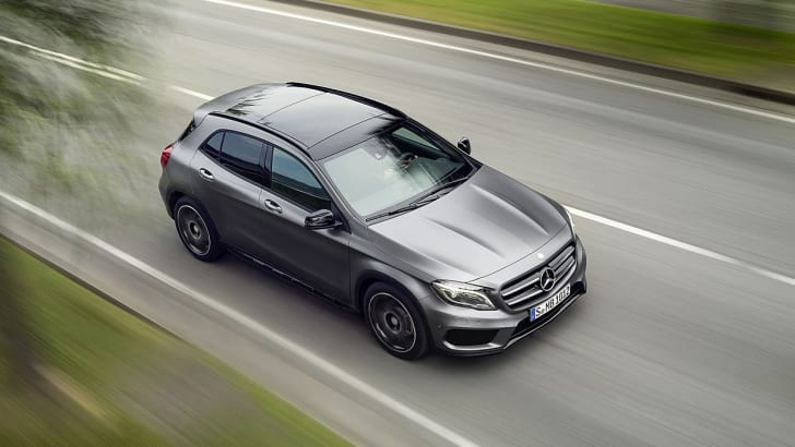 Mercedes-Benz GLA official leak 5