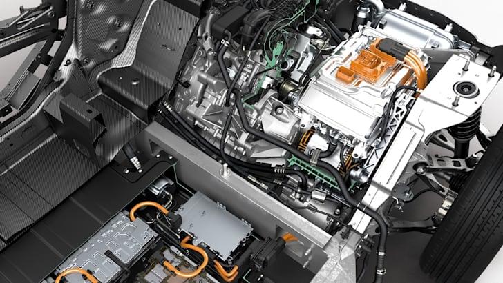 BMW i3 cutaway with range extender