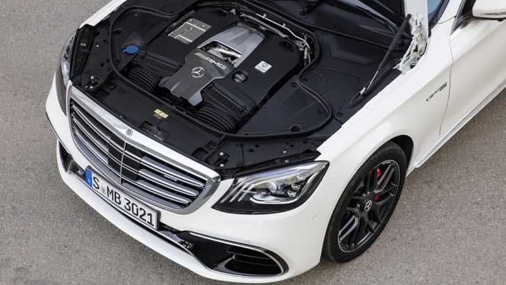 Mercedes-AMG S 63 4MATIC+, 2017