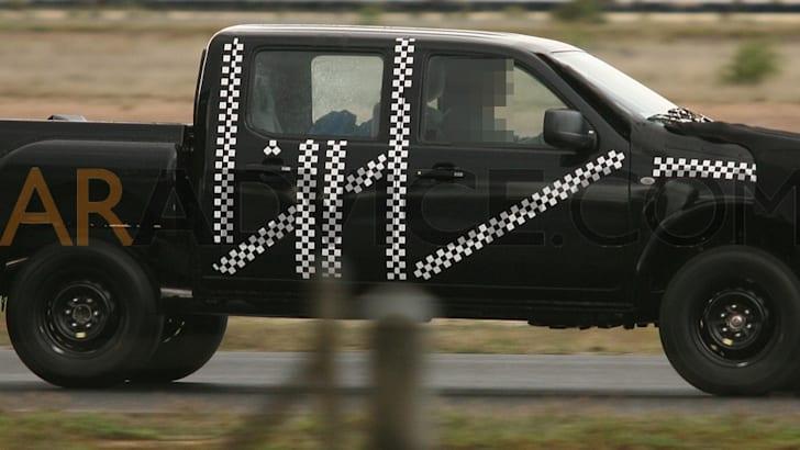 2012 Ford Ranger T6 Spy Photos
