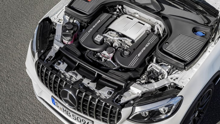 Mercedes-AMG GLC 63 S 4MATIC engine