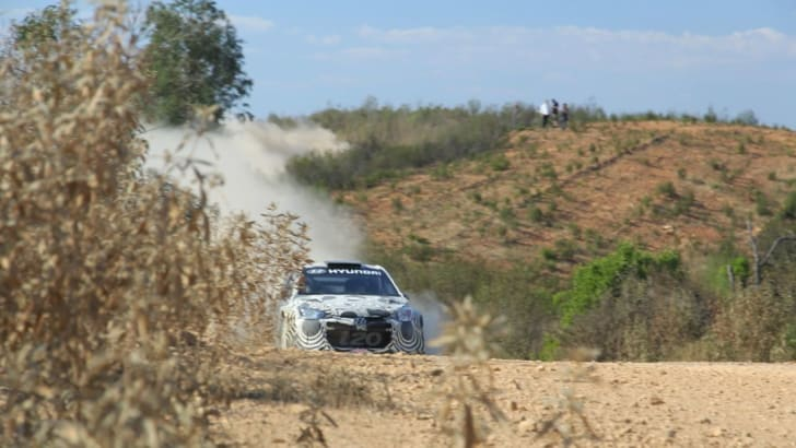 Hyundai WRC i20 test33