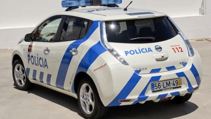 Nissan Leaf Police Car - 2