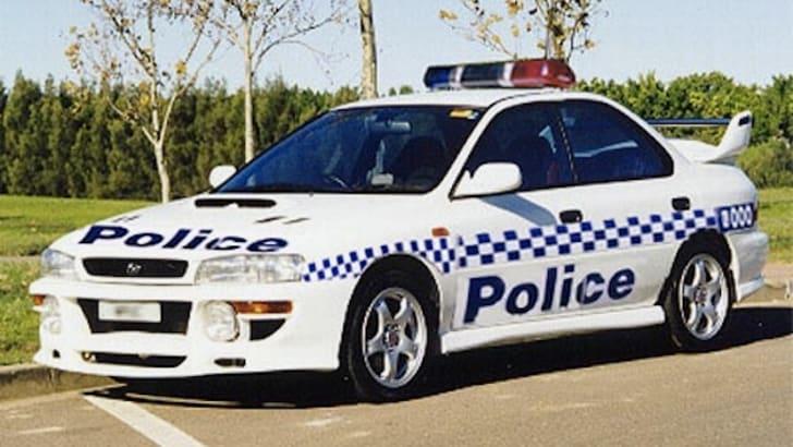 Subaru WRX Police Car