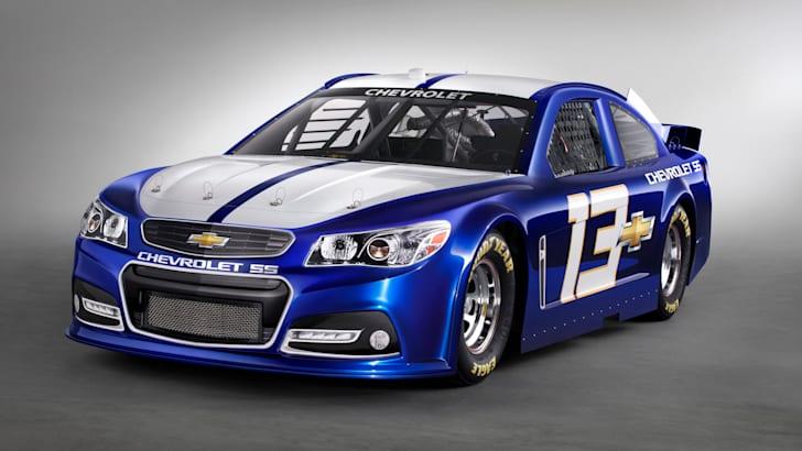 2013 NASCAR Chevrolet SS race car