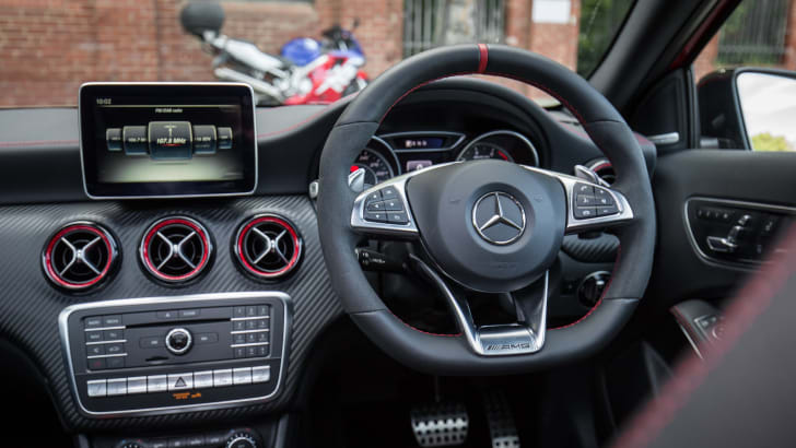 2016 Mercedes-AMG A45 v 2015 Mercedes-Benz A45 AMG: What has